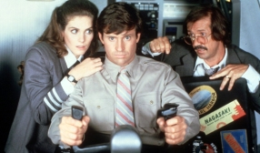 """Airplane II: The Sequel (Bilingual) 1982 (Airplane) Surely you can recite more than a few lines of """"Airplane II: The Sequel"""", the redundantly titles sequel to 1980's """"Airplane!""""(where did the exclamation mark go?). The hero of an unlikely airplanedisaster must overcome his own inadequacies, improbable accidents and his former girlfriend in order to save a space shuttle from destruction."""