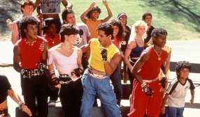 "Breakin 2:Electric Boogaloo Often referenced when searching for gag sequel titles, ""Breakin 2:Electric Boogaloo"" was one of those rare films to be released the same year as it's predecessor ""Breakin"". Inspired by true events, this film went on to gross $6.8 Million..a paltry 1/6 of the original (or about 440 million less sweatbands)."