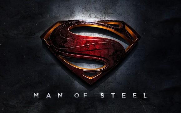 """""""Man of Steel"""" Logo"""