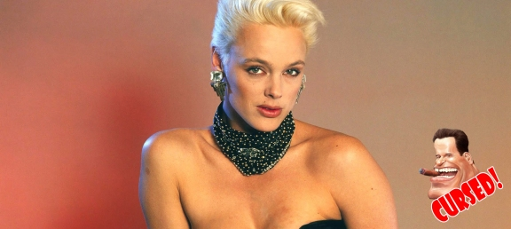 Brigitte Nielsen: Technically not a Schwarzenegger film, since the title character and main lead is Danish actress & model Brigitte Nielsen. Arnold only signed up for nothing more than a glorified cameo, as a favor to producer Dino De Laurentiis. Much to his surprise, he was stuck on the set for four weeks, three weeks longer than expected, and discovered after watching a rough cut of the movie that his role was basically filled out to that of the co-star, thanks to crafty angles and multiple cameras being used. Schwarzenegger decided not long after to try and terminate his 10 year contract with De Laurentiss. That aside, Nielsen never had a breakout role beyond this cult classic. She had bit parts in 'Rocky IV', 'Cobra' & 'Beverly Hills Cop II'.
