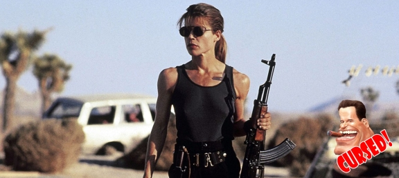 (Buff) Linda Hamilton: Starring in two of Schwarzenegger's biggest films, Hamilton is easily one of the most memorable of leading ladies. She was already an established star by the time she made 'The Terminator', having major roles in TV series like 'Hill Street Blues', 'King's Crossing', & 'Secrets of Midland Height', she had just finished the horror film 'Children of the Corn' before 'The Terminator' was released. The film was not a initial success at the time, but she went on to star in a few more films and the flop of a sequel 'King Kong Lives'. She hit the big time with the (then) modern day re-telling of the classic story 'Beauty and the Beast' which went on to become a cult favorite, she also starred in the family friendly movie 'Mr. Destiny'. It was in 1991 that the Terminator franchise took off when 'Terminator 2: Judgement Day' was a massive hit. However her career never took off like Schwarzenegger's did. She starred in one more major blockbuster, 'Dante's Peak', before she was relegated to the back bench with shows like 'The New Batman Adventures' (voice only), 'Rescuers: Stories of Courage: Two Couples', & 'On the Line'. Since then it has been false start TV pilots, DTV movies and bit parts on other TV series.