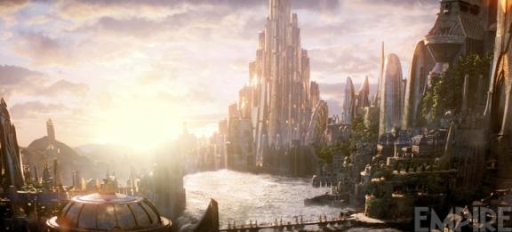 Asgard as seen in 'Thor: The Dark World'