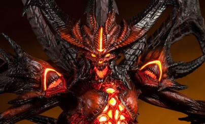 Diablo Polystone Statue by Sideshow Collectibles