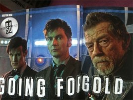 David Tennant, Matt Smith and John Hurt in 'The Day of the Doctor'
