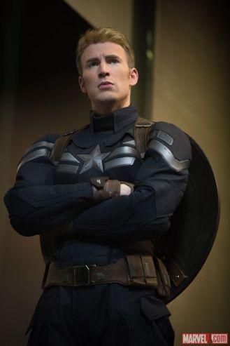 Chris Evans stars as Captain America in Marvel's Captain America: The Winter Soldier