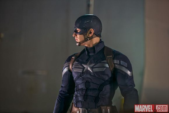 Chris Evans stars as Captain America in Marvel's Captain America: The Winter Soldier
