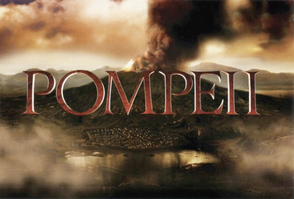Pompeii Movie Banner
