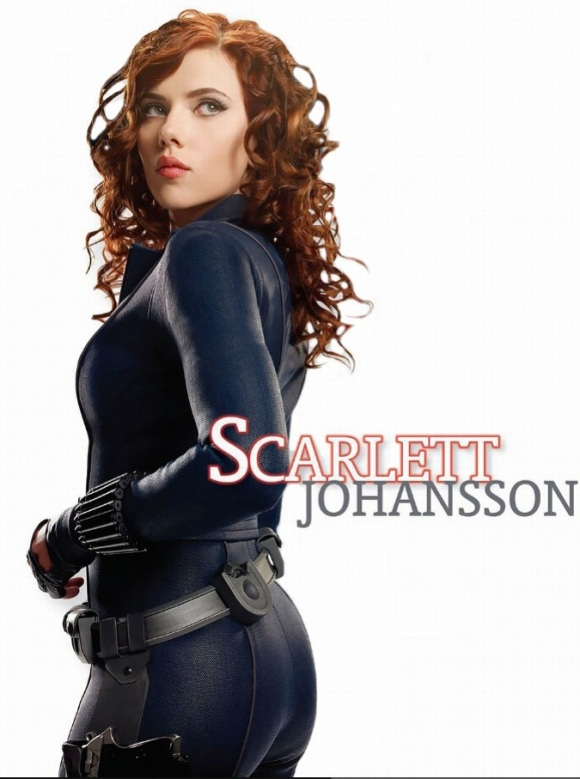 Scarlett Johansson as Natasha Romanoff AKA The Black Widow