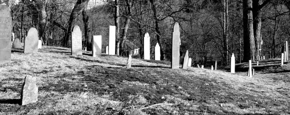 graveyard-bw