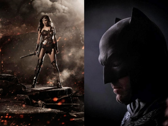 Batman & Wonder Woman in Batman vs Superman: Dawn of Justice
